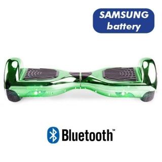 HOVERBOARD S36 BLUETOOTH CHROME GREEN