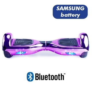 HOVERBOARD S36 BLUETOOTH CHROME PURPLE
