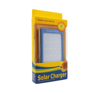 Power bank SOLARNI 7200mAh plavi