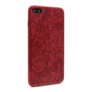 Futrola GLASS Crystal za Iphone 7 Plus/Iphone 8 Plus crvena