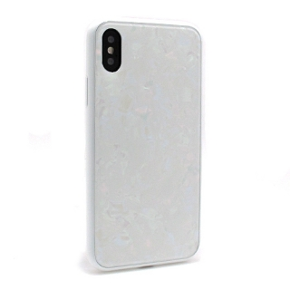 Futrola GLASS Crystal za Iphone X bela