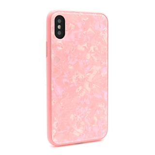 Futrola GLASS Crystal za Iphone X/ Iphone XS roze