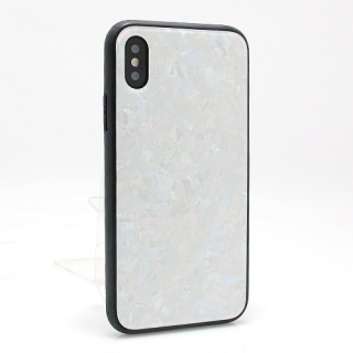 Futrola GLASS Crystal za Iphone X/ Iphone XS bela model 1