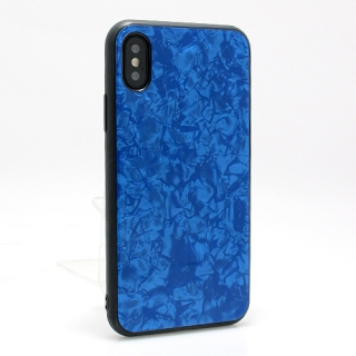 Futrola GLASS Crystal za Iphone X/ Iphone XS plava model 1