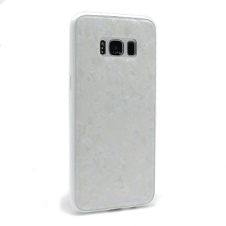 Futrola GLASS Crystal za Samsung G950F Galaxy S8 bela
