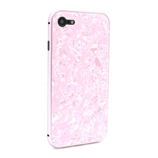 Futrola Magnetic Glass Crystal za Iphone 7/Iphone 8 roze