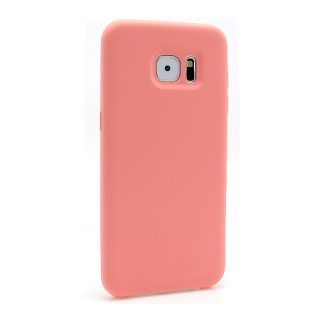 Futrola Silky and soft za Samsung G935 Galaxy S7 Edge roze