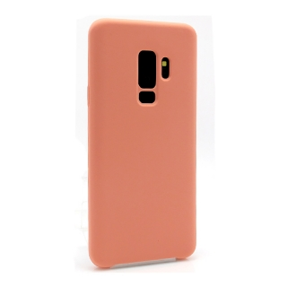 Futrola Silky and soft za Samsung G965F Galaxy S9 Plus roze
