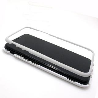 Futrola Magnetic frame 360 za Iphone X bela
