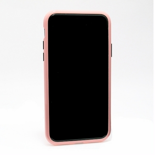 Futrola Magnetic frame 360 za Iphone X roze
