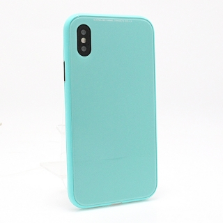 Futrola Magnetic frame 360 za Iphone X tirkizna