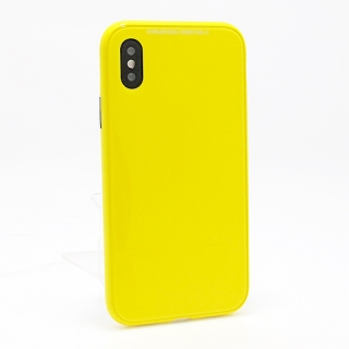 Futrola Magnetic frame 360 za Iphone X zuta
