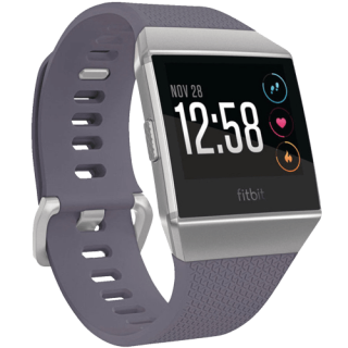 Fitbit Ionic Blue Grey White