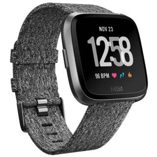 Fitbit Versa Charcoal Woven Special Edition