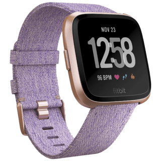 Fitbit Versa Lavander Woven Special Edition