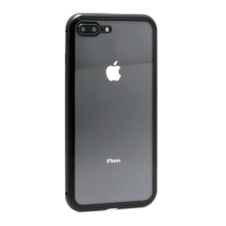 Futrola Magnetic frame za Iphone 7 Plus/ Iphone 8 Plus crna