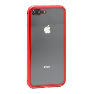 Futrola Magnetic frame za Iphone 7 Plus/ Iphone 8 Plus crvena