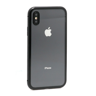 Futrola Magnetic frame za Iphone X crna