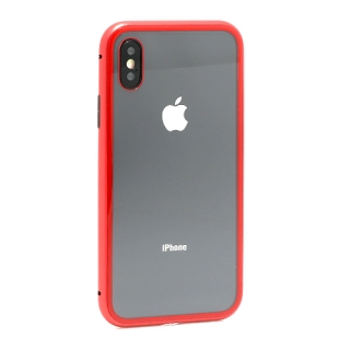 Futrola Magnetic frame za Iphone X crvena