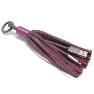 USB data kabal PORTABLE microUSB 2.4A bordo