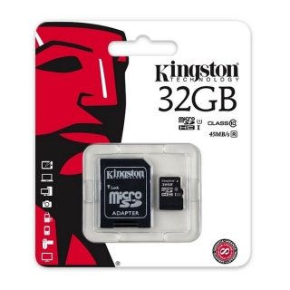 Kingston Mikro SD memorijska kartica 32GB Class 10 45 MB/s
