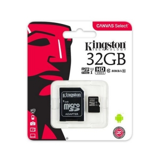 Mikro SD memorijska kartica 32GB Kingston Canvas Select
