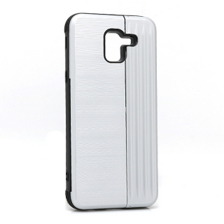 Futrola Pocket Holder za Samsung J600F Galaxy J6 2018 srebrna