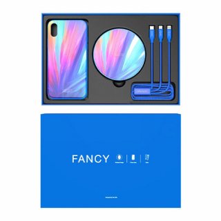 NILLKIN Fancy gift set za Iphone X plavi