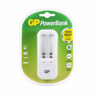Punjac standardni PowerBank PB410GS-2UE1 za 2 baterije GP