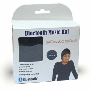 Bluetooth kapa crna