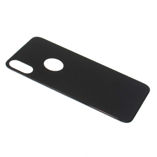 Folija za zastitu ekrana GLASS 5D za Iphone X crna back