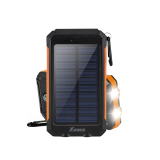 Xwave Solarna Power Bank baterija Camp L 80 black-orange