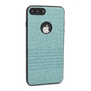 Futrola silikon Embossed za Iphone 7 Plus tirkizna