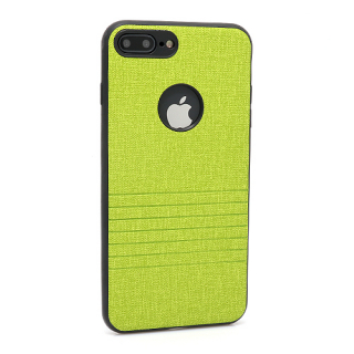 Futrola silikon Embossed za Iphone 7 Plus zelena