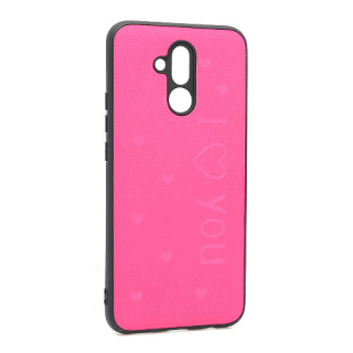 Futrola I LOVE YOU za Huawei Mate 20 Lite pink