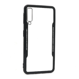 Futrola BACK CLEAR za Samsung A750F Galaxy A7 2018 crna