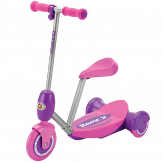 Lil Es Electric ScooterSeated - Pink