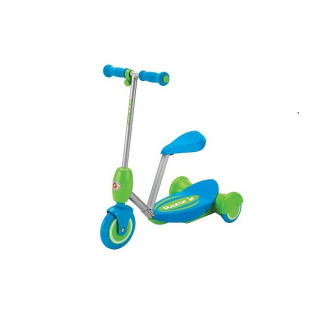 Lil Es Electric ScooterSeated - Blue