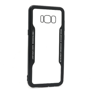 Futrola BACK CLEAR za Samsung G955F Galaxy S8 Plus crna