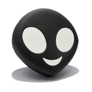 Power Bank EMOJI 2200mAh alien crni