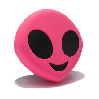 Power Bank EMOJI 2200mAh alien pink