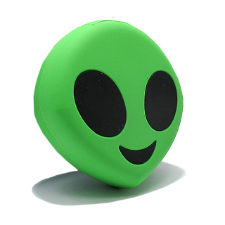Power Bank EMOJI 2200mAh alien zeleni