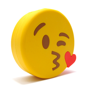 Power Bank EMOJI 2200mAh kiss zuti