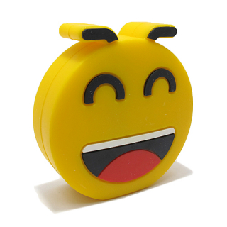Power Bank EMOJI 2200mAh laugh DZ01 zuti