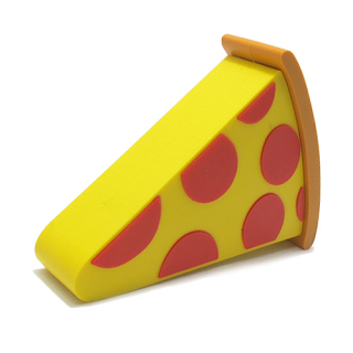 Power Bank EMOJI 2200mAh pizza zuti