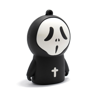 Power Bank EMOJI 2200mAh scary crni