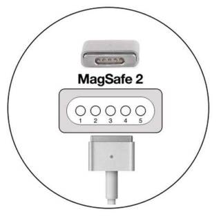 Auto punjac za Apple MagSafe 2 45W model 2