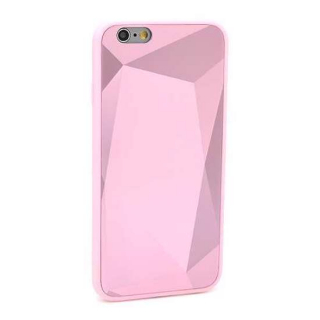 Futrola CRYSTAL COLOR za Iphone 6G/6S roze