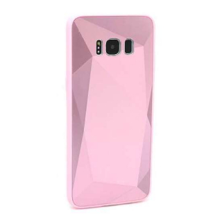 Futrola CRYSTAL COLOR za Samsung G950F Galaxy S8 roze