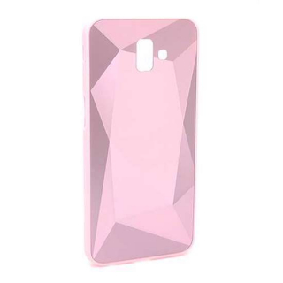 Futrola CRYSTAL COLOR za Samsung J610F Galaxy J6 Plus roze